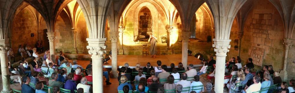 Fabliaux à l'Abbaye de Fontdouce