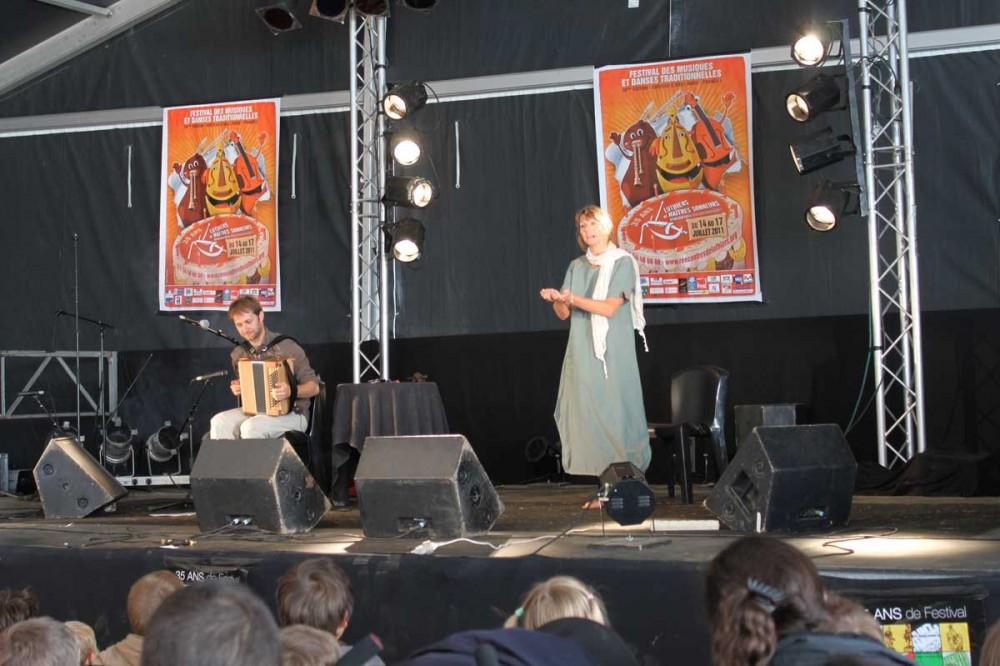 La fiancée du crapaud au Festival de St Chartier
