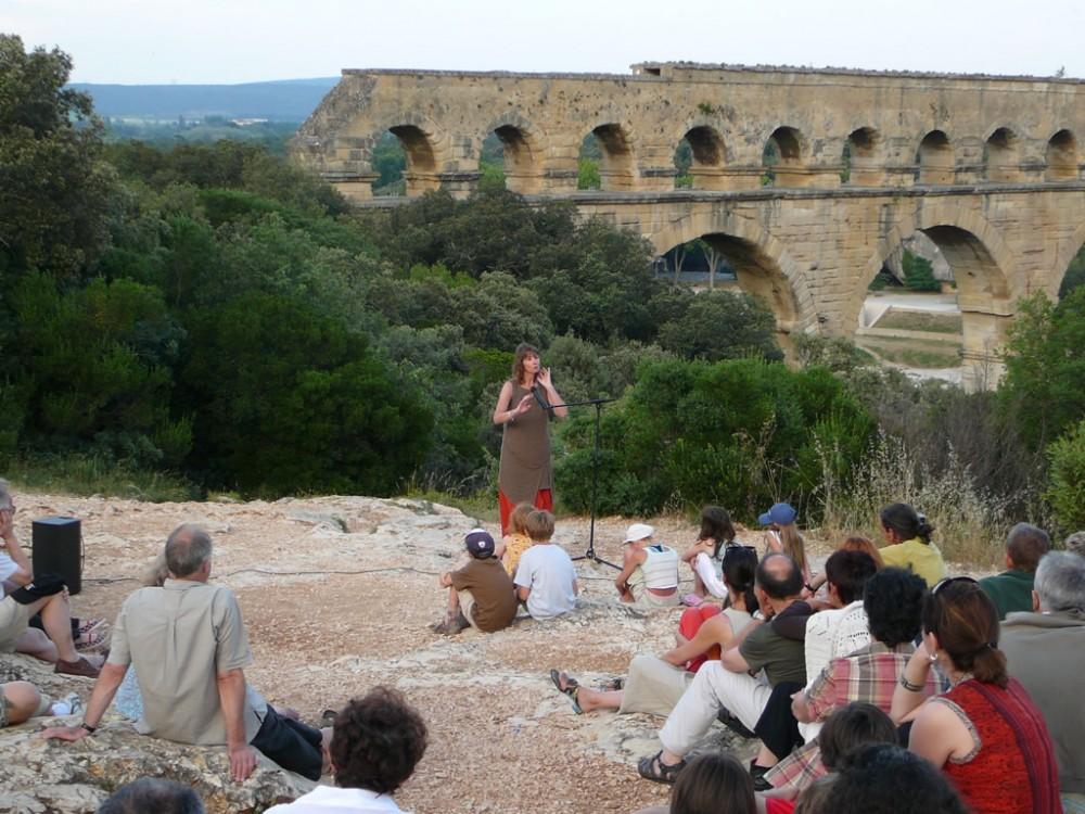 Balade contée au Pont-du-Gard