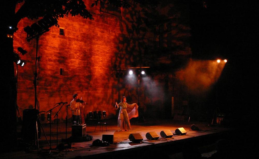 Au Diable Merlin au Festival du conte en Uzège