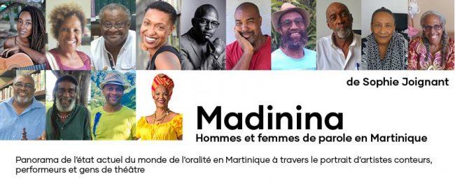 Sortie du livre « Madidina, Hommes et femmes de Parole en Martinique »